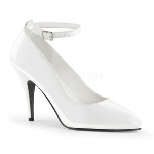"""Shoes - 4"""" High Heel Patent Pointed Toe Ankle-Strap Shoes"""